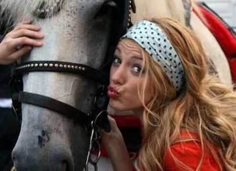 How Many Blondes Does It Take To Start A Horse?