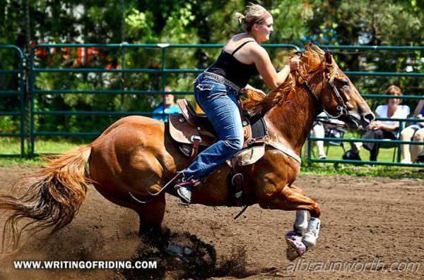 More Cringe-Worthy Barrel Racing Abuse - Writing of Riding