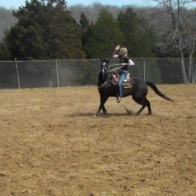Barrel Racing attracts many bad, abusive riders; this woman is no exception as she brutally abuses her horse.