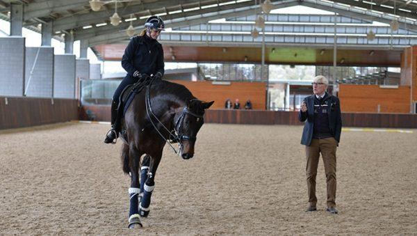 Leif Törnblad teaching a clinic.